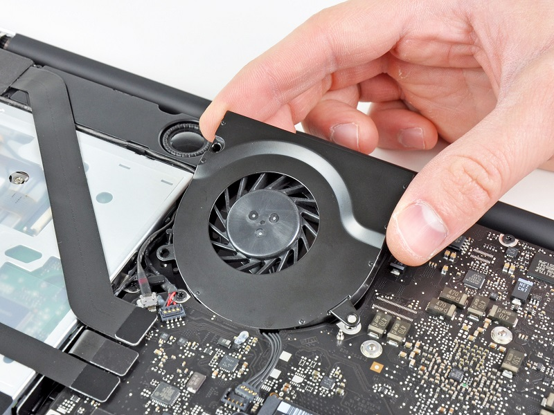 macbook laptop cpu fan