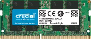 Crucial 4GB DDR4 1.2v 2400Mhz CL17 SODIMM RAM Memory Module For Laptops in Hyderabad