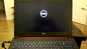 Dell Laptop Screen Is Black