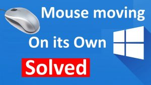 Mouse Cursor Starts Moving On Its Own Issue Fixed